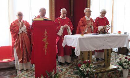 Festeggiati tre sacerdoti in Villa Sacro Cuore (LE FOTO)
