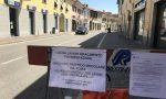 La via centrale di Caponago chiusa al traffico