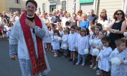 A Biassono comunità in festa per il novello sacerdote (LE FOTO)