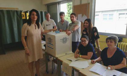 Elezioni Seregno   Ha votato il candidato sindaco Ilaria Cerqua