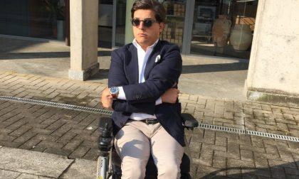 Corre la Stralugano in sedia a rotelle