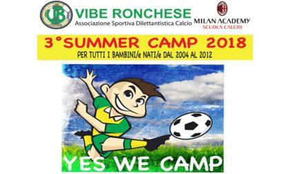 Summer camp a Ronco Briantino, per un'estate con la Vibe Ronchese