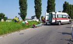 Incidente auto moto, grave un 31enne VIDEO E GALLERY