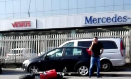 Incidente lungo viale Sicilia, traffico in tilt