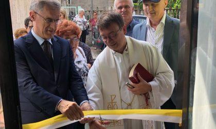 Inaugurata la nuova sede della Caritas al Villaggio Giovi