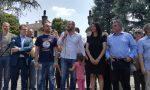 Matteo Salvini a Seregno per sostenere Ilaria Cerqua VIDEO
