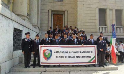 La sezione di Cesano Maderno dell'Associazione nazionale carabinieri festeggia i settant'anni