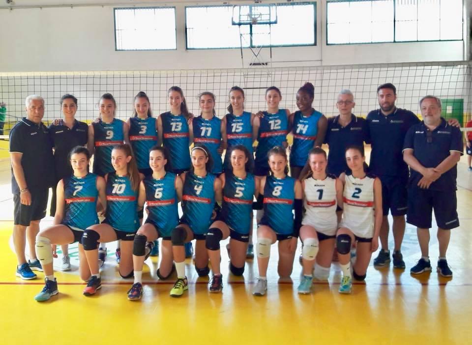 La selezione femminile di Monza Milano Lecco pallavolo Fipav