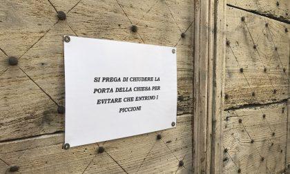Visite indesiderate nella chiesa, porta chiusa
