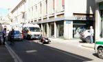 Motociclista 34enne si schianta in via Manzoni