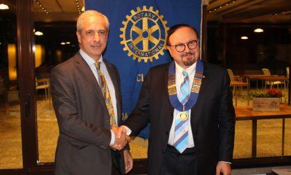 Passaggio di consegne al Rotary Club di Meda e delle Brughiere