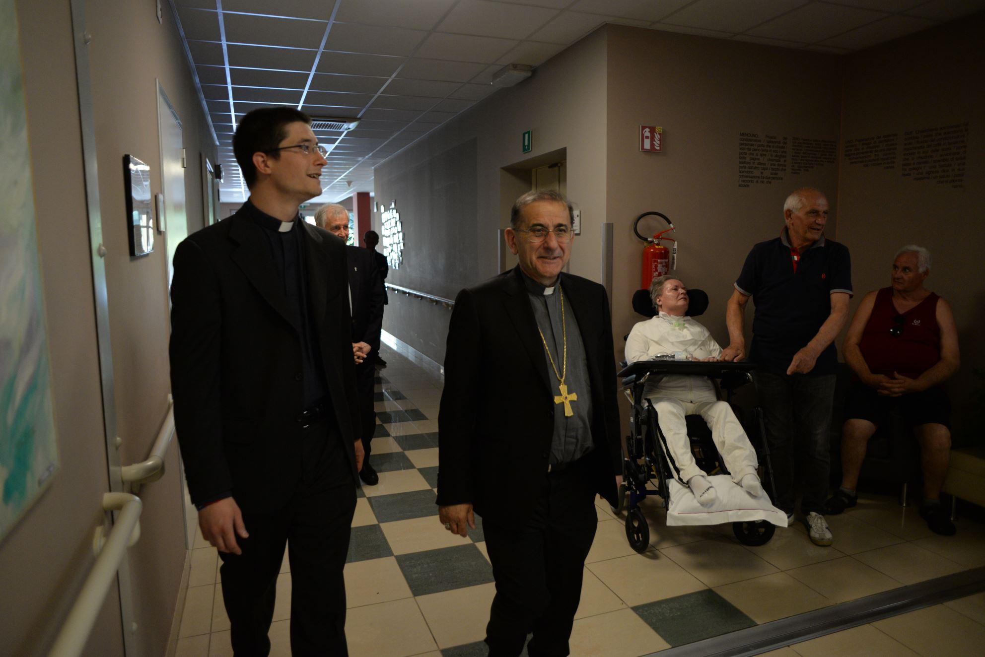 """L'Arcivescovo Mario Delpini a Monza con """"Slancio"""""""