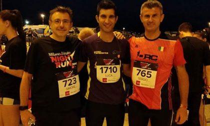 Anche il vicesindaco di Agrate alla Linate night run