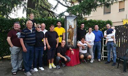 Il rione San Giuann ha di nuovo la sua statua