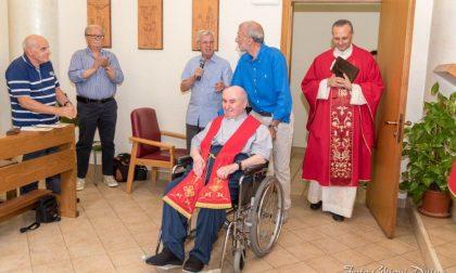 Birone,  festa per il 60esimo  di ordinazione  di don Angelo Pessina