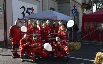 La Croce rossa è pronta a fare festa