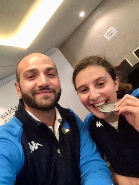 Sofia Brunati, atleta paralimpica, porta a Robbiano la  medaglia d&#8217&#x3B;argento dei Campionati Mondiali