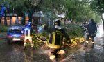 Bomba d'acqua e grandine in Martesana FOTO E VIDEO