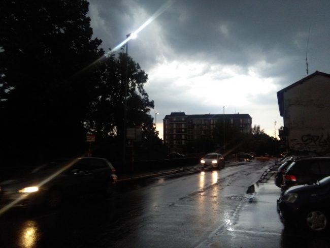 Violenta grandinata su Monza: code e traffico in tilt &#8211&#x3B; VIDEO