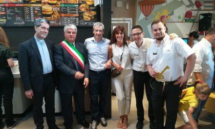 McDonald's a Concorezzo inaugurato nell'ex area Frette