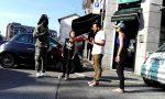 Tensione in via Visconti, lite tra stranieri VIDEO