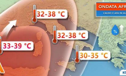 Forte ondata di caldo in arrivo, la più lunga dell'Estate 2018