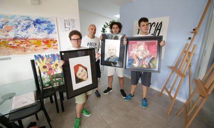 Gli artisti di Facciavista conquistano il centro della città