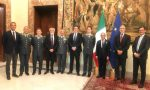 Filippo Tortu premiato a Palazzo Chigi