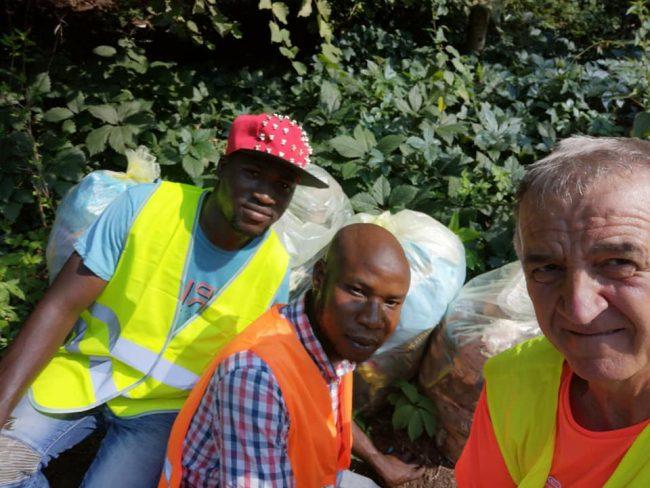 Comune e profughi ripuliscono Besana