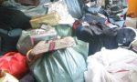 Merce contraffatta sequestrata al mercato, venditore scappa