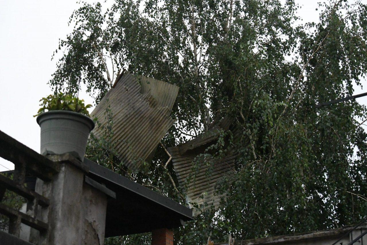 vento forte in Brianza