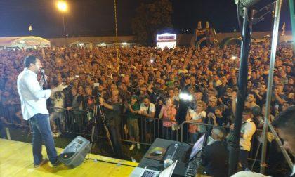 Salvini infiamma la festa della Lega ad Arcore FOTO E VIDEO