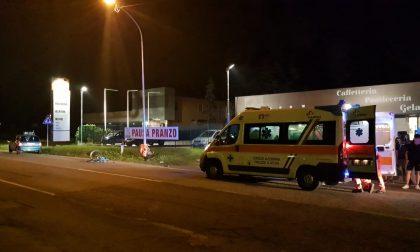 Ragazzino investito in bicicletta a Lesmo, è grave