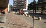 Nuovo asfalto per l'autostazione di piazza Marconi