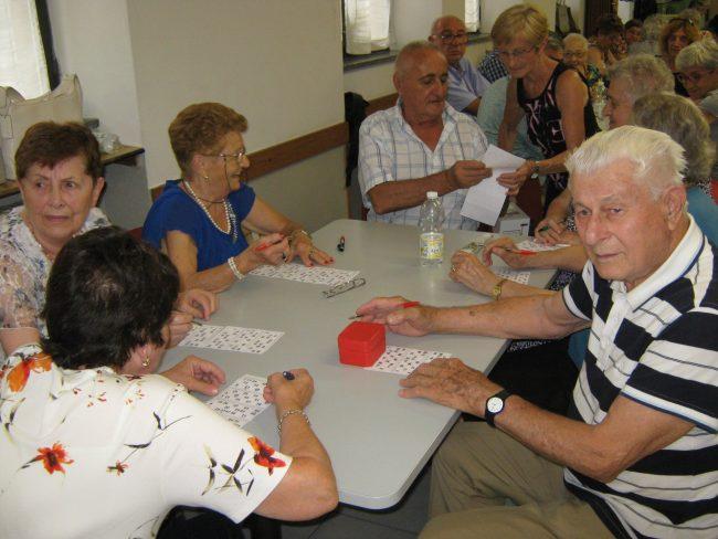 festa d'estate al centro anziani di veduggio
