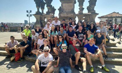 I giovani dell'oratorio in cammino verso Santiago