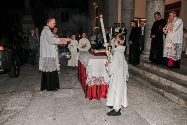 reliquie di papa giovanni paolo II a Giussano
