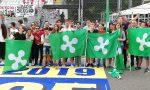 """Striscione dei Giovani leghisti al Gran Premio: """"E' ora di cambiare l'Europa"""""""