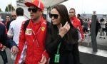Kimi Raikkonen in Autodromo con la moglie VIDEO