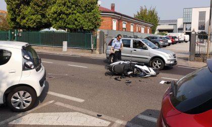 Scontro auto moto a Cesano: muore un 34enne di Varedo