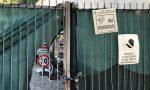 Deposito del Comune in cimitero a Seregno, protesta la Lega FOTO