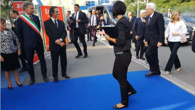 Mattarella a Monza: la visita del Presidente della Repubblica VIDEO