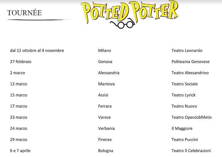 Per i fans del giovane mago a Milano lo spettacolo Potted Potter
