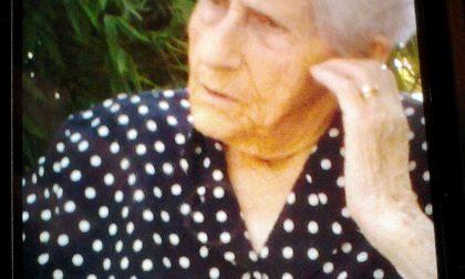 Giussano, auguri a nonna Ersilia: 101 anni