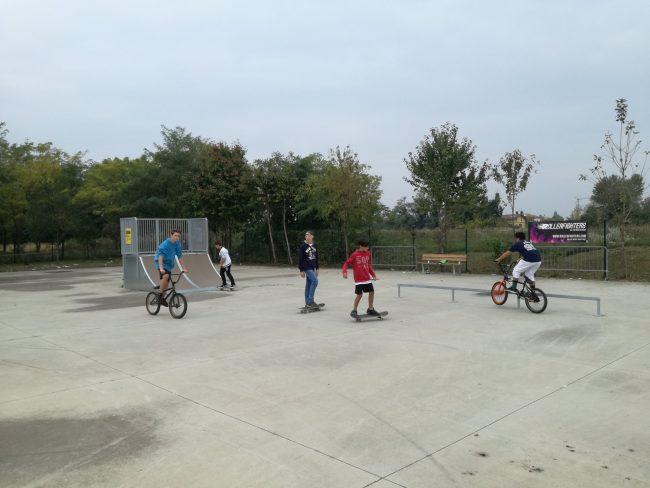 Desio Inaugurazione dello skatepark
