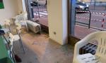 Attacco vandalico contro la sede della Lega a Cogliate