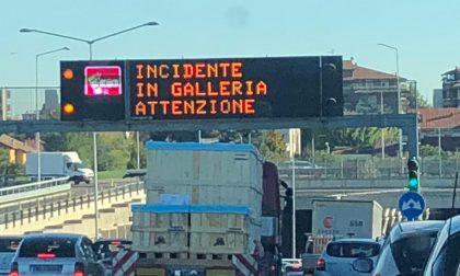 Dopo il tamponamento in Tangenziale, incidente anche sulla Statale 36