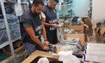 Sequestro di articoli di maglieria falsi per mezzo milione di euro VIDEO