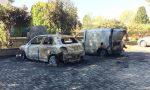 Incendio doloso di sette auto, nei guai una 31enne monzese