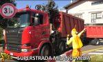 Striscia la notizia a Cesano per il ponte sulla Milano-Meda